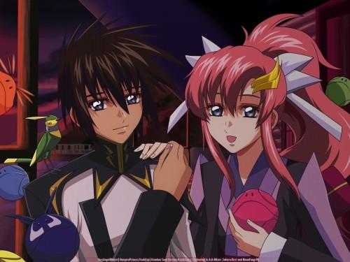 Mobile Suit Gundam SEED Destiny, Haro, Lacus Clyne, Kira Yamato Wallpaper