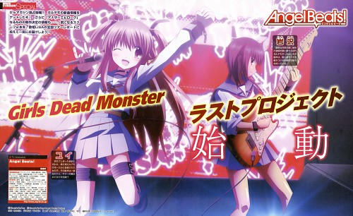 Hiroyuki Hashimoto, Key (Studio), Angel Beats!, Masami Iwasawa, Yui (Angel Beats!)