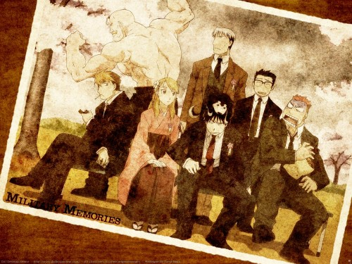 Hiromu Arakawa, BONES, Fullmetal Alchemist, Kain Fuery, Roy Mustang Wallpaper