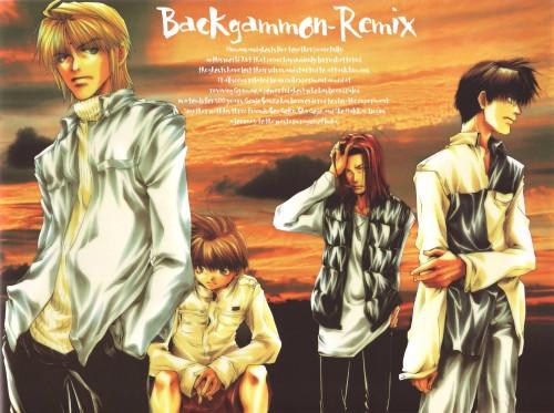 Kazuya Minekura, Studio Pierrot, Saiyuki, Backgammon Remix, Genjyo Sanzo