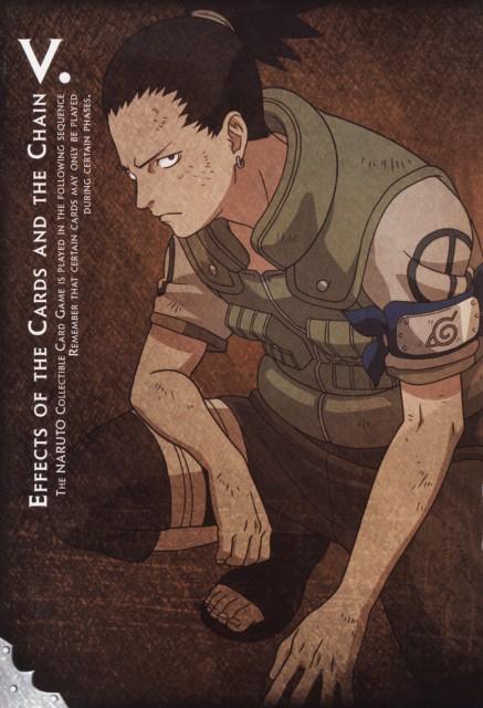 Studio Pierrot, Naruto, Shikamaru Nara, Trading Cards