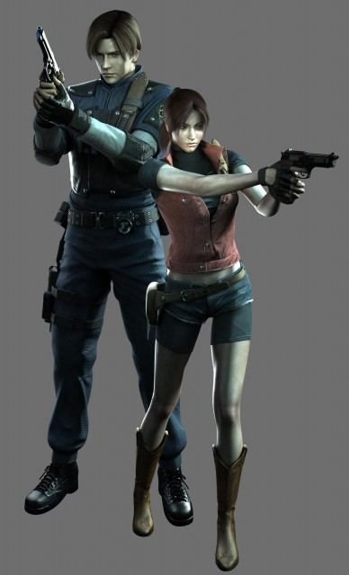 Capcom, Resident Evil: The Dark Side Chronicles, Claire Redfield, Leon S. Kennedy