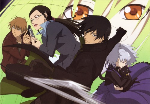 Yuji Iwahara, BONES, Darker than Black, Misaki Kirihara, Amber