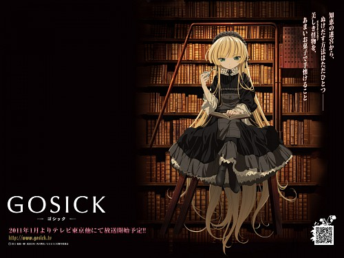 Hinata Takeda, BONES, Gosick, Victorique De Blois, Official Wallpaper