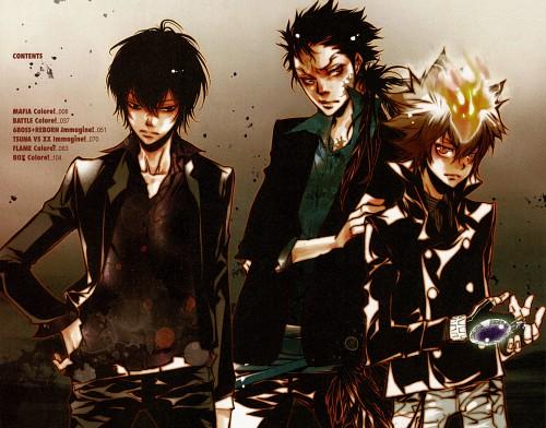 Akira Amano, Katekyo Hitman Reborn!, Colore!, Xanxus, Tsunayoshi Sawada
