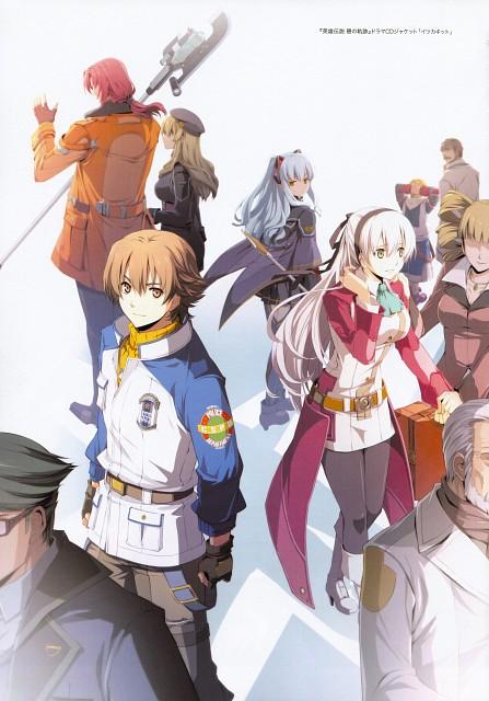 Falcom, The Legend of Heroes Illustration Artbook, The Legend of Heroes: Ao no Kiseki, The Legend of Heroes: Zero no Kiseki, Randy Orlando