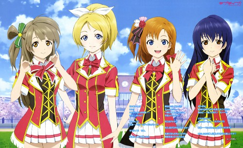 Murota Yuuhei, Love Live! School Idol Project, Umi Sonoda, Kotori Minami, Honoka Kosaka