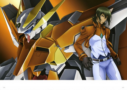 Sunrise (Studio), Mobile Suit Gundam 00, Mobile Suit Gundam 00 Illustrations Innovation, Allelujah Haptism