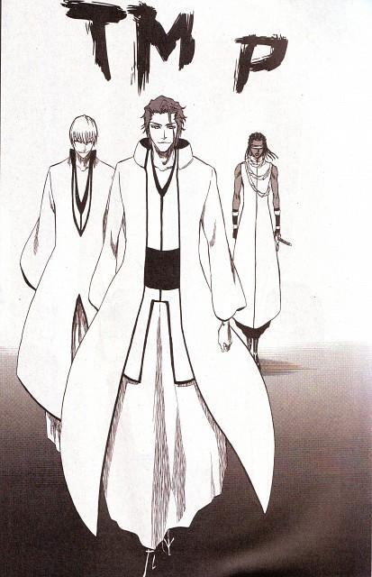 Kubo Tite, Bleach, Sousuke Aizen, Kaname Tousen, Gin Ichimaru