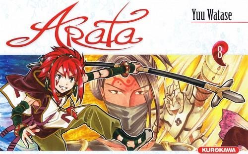 Yuu Watase, Arata Kangatari, Kanate, Manga Cover