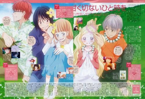 Chika Umino, Honey and Clover, Ayumi Yamada, Hagumi Hanamoto, Shinobu Morita