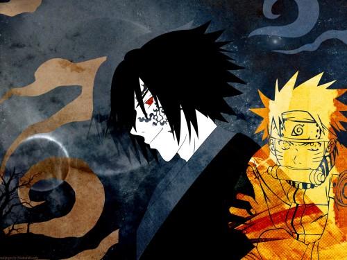 Shishimaru, Naruto, Naruto Uzumaki, Sasuke Cursed Seal, Doujinshi Wallpaper