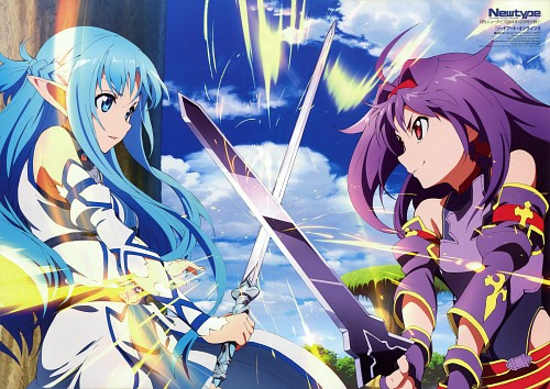 Kanta Suzuki, Sword Art Online, Yuuki Konno, Asuna Yuuki, Newtype Magazine