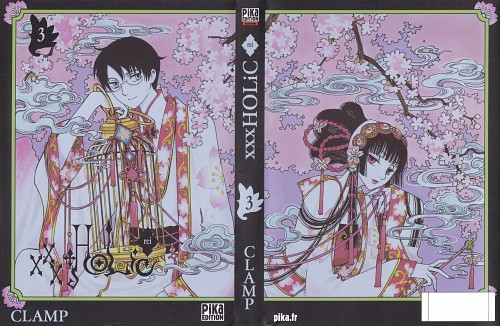 CLAMP, Production I.G, xxxHOLiC, Yuuko Ichihara, Kimihiro Watanuki