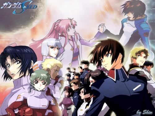 Sunrise (Studio), Mobile Suit Gundam SEED, Athrun Zala, Fllay Allster, Lacus Clyne Wallpaper