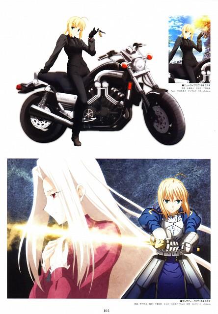 Ufotable, TYPE-MOON, Fate/Zero, Fate/Zero Animation Visual Guide I, Saber
