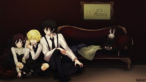 Jun Mochizuki, Xebec, Pandora Hearts, Oz Vessalius, Alice Wallpaper