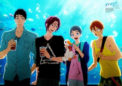 Ryouhei Muta, Kyoto Animation, Free!, Rin Matsuoka, Momotarou Mikoshiba
