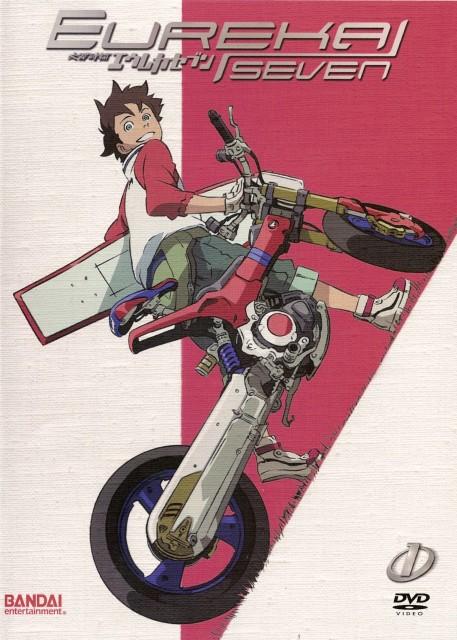Kazuma Kondou, BONES, Eureka 7, Renton Thurston, DVD Cover