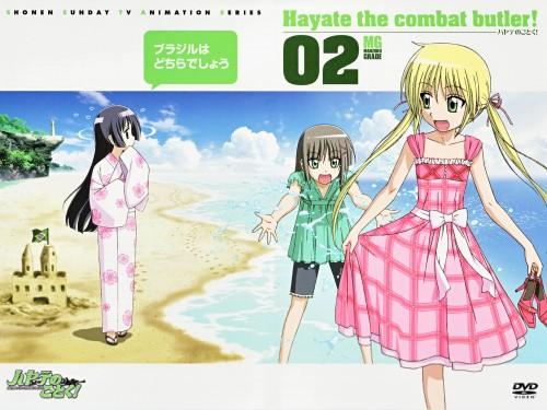 Hayate the Combat Butler, Sakuya Aizawa, Nagi Sanzenin, Isumi Saginomiya