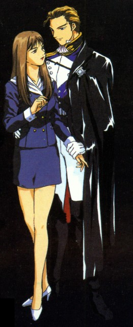 Mobile Suit Gundam Wing, Lady Une, Treize Khushrenada
