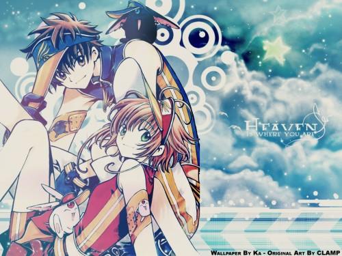 CLAMP, Bee Train, Tsubasa Reservoir Chronicle, Sakura Kinomoto, Mokona Wallpaper