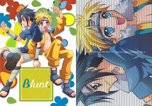 Shouko Iwami, Naruto, Sasuke Uchiha, Naruto Uzumaki, Doujinshi Cover