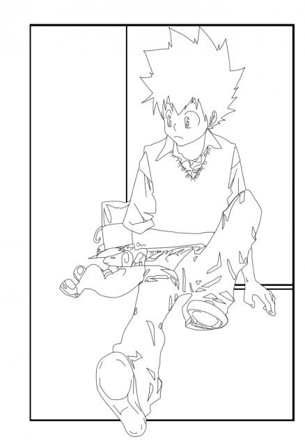 Akira Amano, Katekyo Hitman Reborn!, Reborn (Character), Tsunayoshi Sawada, Member Art