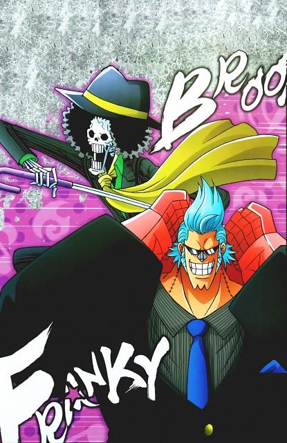 Eiichiro Oda, Toei Animation, One Piece, Brook, Franky