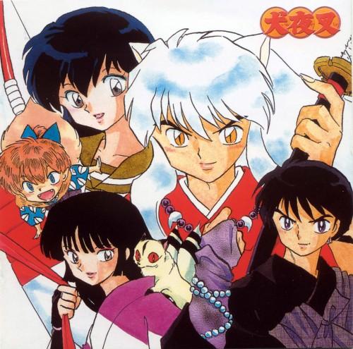Rumiko Takahashi, Inuyasha, Miroku, Sango, Kirara