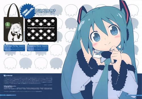 Hiro Kanzaki, Tabgraphics Works Winter091231, Vocaloid, Miku Hatsune
