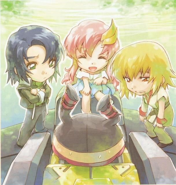 RGB, Mobile Suit Gundam SEED Destiny, Athrun Zala, Cagalli Yula Athha, Lacus Clyne