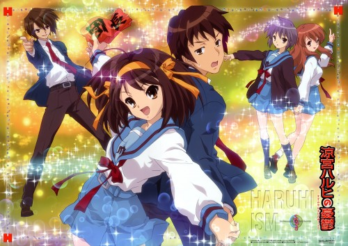 Shouko Ikeda, Kyoto Animation, The Melancholy of Suzumiya Haruhi, Tribute to the SOS-Dan, Kyon