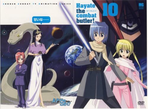 Hayate the Combat Butler, Nagi Sanzenin, Hayate Ayasaki, Shion Kuresato, Kirika Kuzuha