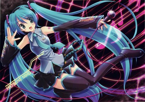 Akane Ikegami, Akane Iro - Ikegami Akane Art Works, Vocaloid, Miku Hatsune