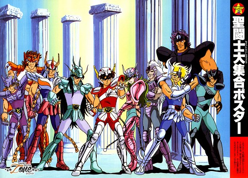Masami Kurumada, Toei Animation, Saint Seiya, Unicorn Jabu, Wolf Nachi