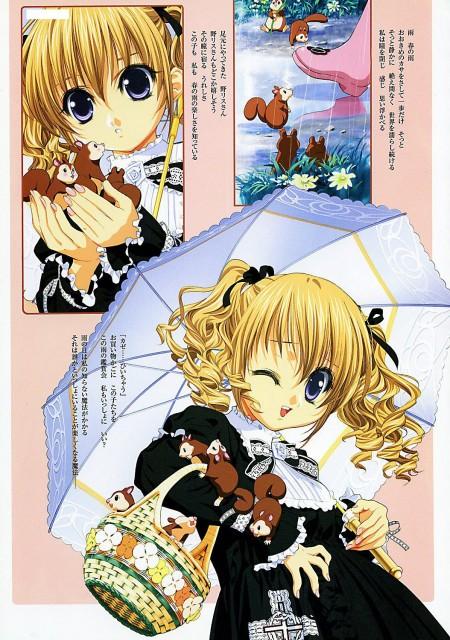 Naoto Tenhiro, World's End, Nero Belutino, Manga Panels