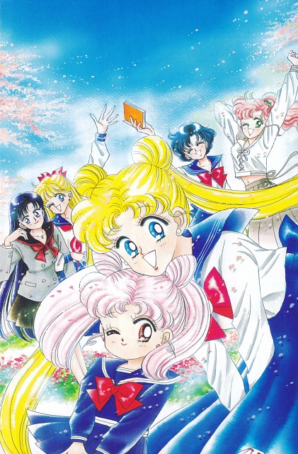 Naoko Takeuchi, Bishoujo Senshi Sailor Moon, BSSM Original Picture Collection Vol. II, Ami Mizuno, Minako Aino