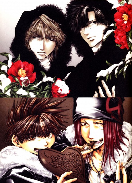 Kazuya Minekura, Studio Pierrot, Saiyuki, Salty Dog VI, Genjyo Sanzo