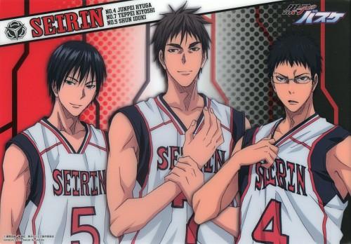 Tadatoshi Fujimaki, Production I.G, Kuroko no Basket, Shun Izuki, Junpei Hyuuga
