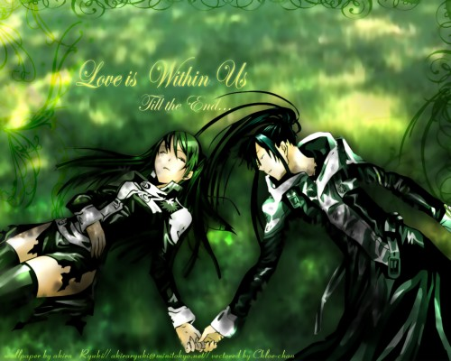 Katsura Hoshino, TMS Entertainment, D Gray-Man, Yu Kanda, Lenalee Lee Wallpaper