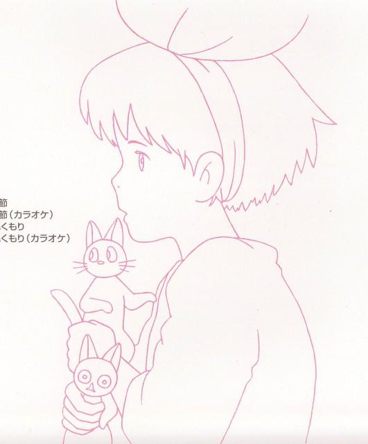 Hayao Miyazaki, Studio Ghibli, Kiki's Delivery Service, Jiji (Kiki's Delivery Service), Kiki Okino