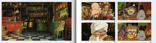 Studio Ghibli, Studio Hibari, Spirited Away, The Art of Spirited Away, Yubaba