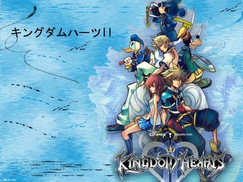 Square Enix, Kingdom Hearts, Mickey Mouse, Kairi, Roxas Wallpaper
