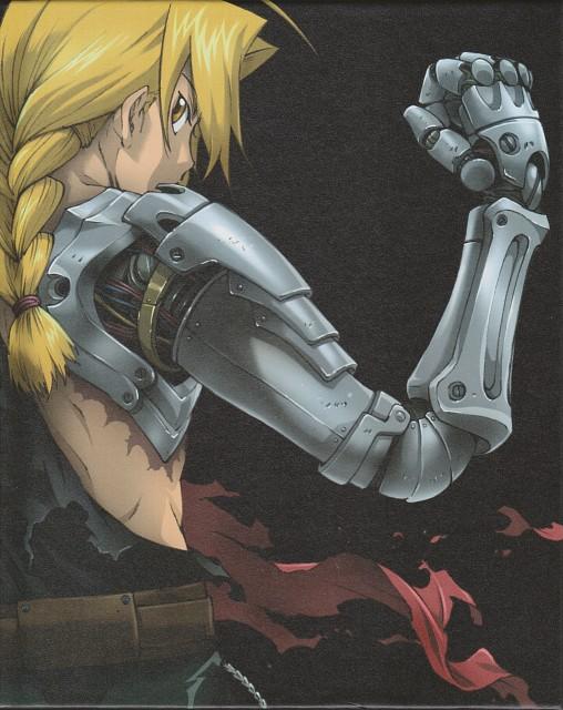 Yoshiyuki Itou, BONES, Fullmetal Alchemist, Edward Elric, DVD Cover