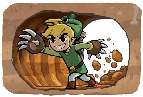 Nintendo, The Legend of Zelda, The Legend of Zelda: The Minish Cap, Toon Link, Link