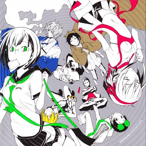 Suzuhito Yasuda, Brains Base, DURARARA!!, Mikado Ryugamine, Masaomi Kida