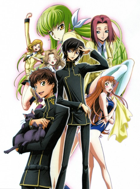 Takahiro Kimura, Sunrise (Studio), Lelouch of the Rebellion, Nunnally Lamperouge, Arthur