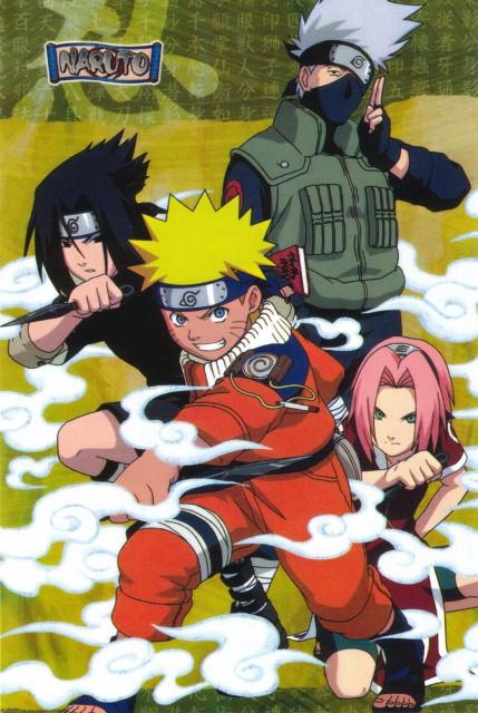 Studio Pierrot, Naruto, Naruto Uzumaki, Kakashi Hatake, Sasuke Uchiha