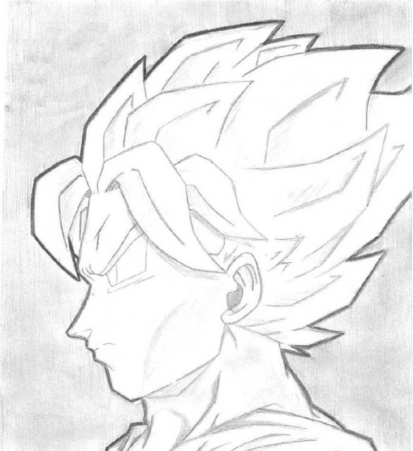 Akira Toriyama, Dragon Ball, Super Saiyan Goku, Member Art